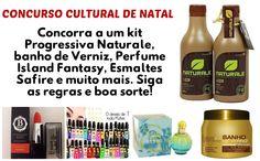 CONCURSO CULTURAL DE NATAL- KIT PROGRESSIVA NATURALE BRASIL E MUITO MAIS!