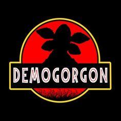 Demogorgon Jurassic Park Stranger Things