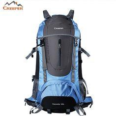 Brand Hot Sale Men s woman Waterproof Nylon Backpack Camping on foot Travel  Mountaineering Zipper Man Backpack e42615f059