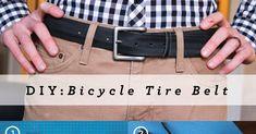 Brewed Together: DIY: Bicycle Tire Belt by Kaleb