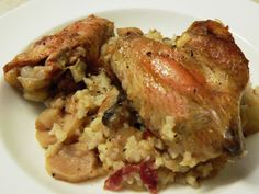 Chicken and Rice Clay Baker Recipe