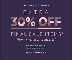 Linear Type Treatment from J.Crew E-Blast Email Marketing Design, E-mail Marketing, Minimal Web Design, Sale Banner, Web Banner, Ad Design, Layout Design, Banners, Dm Poster