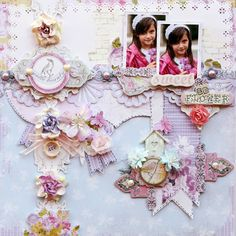Sweet as a flower layout featuring Meadow Lark collection