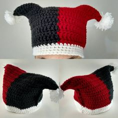 Harley Quinn Hat                                                                                                                                                      More