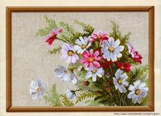 croche: EMBROIDERY. FLOWERS