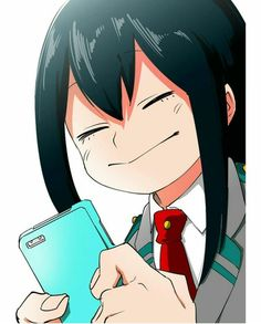 Boku no Hero Academia Tsuyu Asui, My Hero Academia Tsuyu, Buko No Hero Academia, Hero Academia Characters, Anime Characters, Asui Boku No Hero, Manga, Fanart, Usui