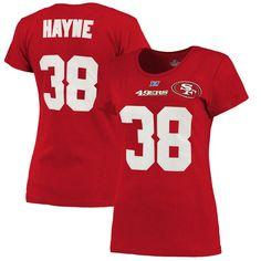 1f1b7bd75df Jarryd Hayne San Francisco 49ers Majestic Women s Fair Catch T-Shirt -  Scarlet