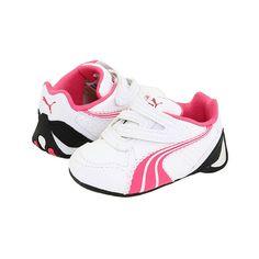 Puma Kids Kart Cat Evo Inf (Infant/Toddler) : Puma Kids Girls Shoes, Puma found on Polyvore