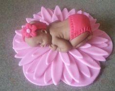 bebé fondant por JhoSweets en Etsy