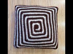 Vankúšik háčkovaný do špirály, Spiral crochet pillow, blanket Spiral Crochet, Crochet Pillow, Blanket, Pillows, Rugs, Youtube, Home Decor, Farmhouse Rugs, Decoration Home