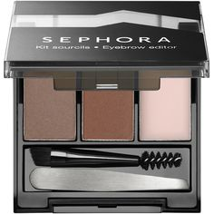SEPHORA COLLECTION Eyebrow Editor Eye found on Polyvore featuring beauty products, makeup, eye makeup, brow kit, eyebrow makeup, brow makeup, eyebrow kit and eye brow kit