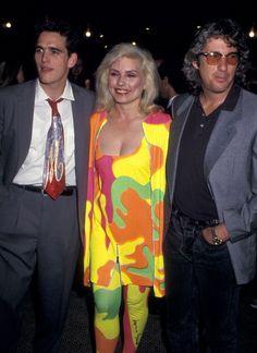 Richard Gere, Matt Dillon & Debbie at Art against Aids NYC 1987