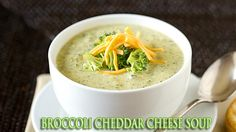 BROCCOLI CHEDDAR CHESSE SOUP - panera bread copycat. A creamy and delicious soup that tastes just like Panera Bread!!!