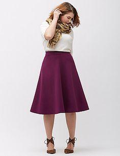 Plus Size Skirts | Plus Size Denim & Maxi Skirts | Lane Bryant