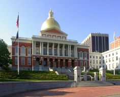 Old State House in Downtown Boston, Massachusetts