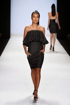 Blogging Project Runway ~: Kini Zamora - Spring 2015