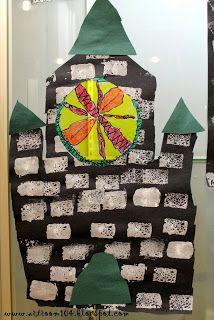 Art Room 104: 2nd Grade: Beauty & the Beast: Beast's Castle