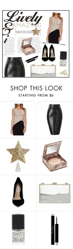 """""""Glitter _ beautifulhalo"""" by by-jwp ❤ liked on Polyvore featuring Urban Decay, Steve Madden, Skinnydip, Lane Bryant, Christian Dior and bhalo"""
