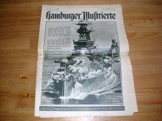 Hamburger Illustrierte Nr 43 vom 23.10.1939 sehr interessant Antik RAR