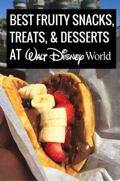 Best Fruity Snacks at Disney World