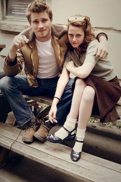 Garrett Hedlund and Kristen Stewart in On The Road, 2012