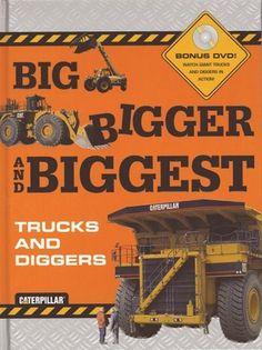 Big Bigger Biggest Trucks and Diggers with DVD