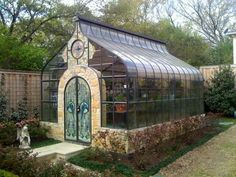 Pretty greenhouse