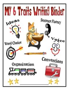 Lots of 6 traits writing resources! Writing Strategies, Writing Lessons, Writing Resources, Writing Skills, Writing Activities, Writing Workshop, Writing Ideas, Writing Lab, English Writing