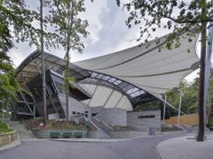 Award of Excellence in Tensile Structures more than 2300 square meters: Opera Lesna Spt