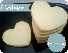Galletas de mantequilla, galletas para decorar, galletas perfectas