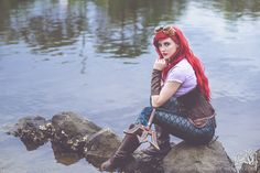 The Artful Dodger is Ariel, The Little Mermaid — Photos by Charmaine Morgan