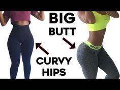 ❤️How To Get Curvy Hips and Bigger Butt  4 Workouts For Wider Hips and Big Booty! - YouTube