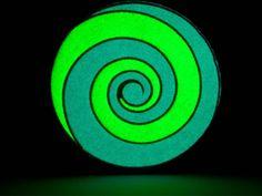 Disc fluorescent pentru catei