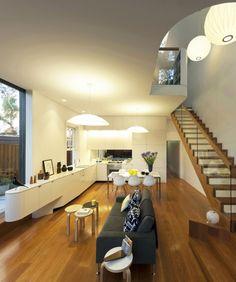 Architectural transformation for Rozelle pad | Designhunter - architecture & design blog