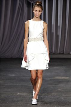 Sfilata Christian Siriano New York - Collezioni Primavera Estate 2013 - Vogue