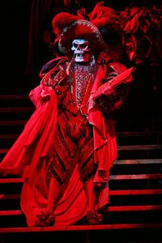 The Red Death #costume from Phantom of the Opera ...