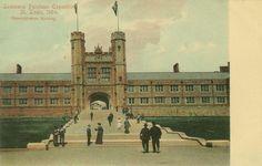 St Louis World's Fair, 1904 (Washington University in St Louis,) Administration Building       Cope & Stewardson, architects