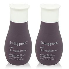 Living Proof Curl Detangling Rinse 2 oz  2 pack -- You can find out more details at the link of the image.(This is an Amazon affiliate link and I receive a commission for the sales) #ShampooPlusConditioner
