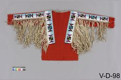 Sarcee/TsuuTina shirt  Canadian Mus. History.  ac