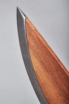 北欧デザインのようにあたたかみがある包丁skid