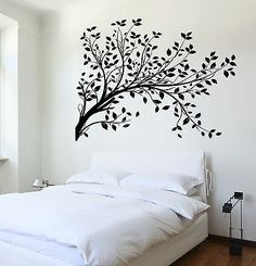 Wall Decal Tree Branch Cool Art For Bedroom Vinyl Sticker (z3621)