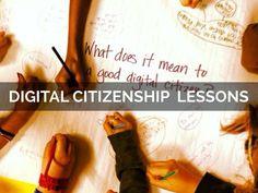 """Digital Citizenship Lessons"" - A Haiku Deck by Susan Spellman Cann #setyourstoryfree"