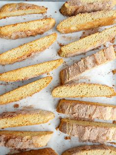 Snickerdoodle Biscotti - Confessions of a Confectionista
