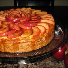 Apple Cinnamon Cheesecake Recipe photo: Arien Marvin