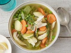 Get Food Network Kitchen's Slow Cooker Chicken and Vegetable Soup Recipe from Food Network