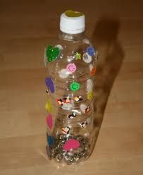 Sensory Activity Fun with Water Bottles   Water bottle crafts and activities are fantastic for children with autism or sensory issues.  These crafts encourage creativity, peer interaction, fine motor development, and provide sensory and visual input.  Below are some creative ideas to that you can use to create fun activities with your kids or students with items you may have around your home or classroom.