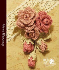 Image gallery – Page 566820303094457396 – Artofit Crochet Brooch, Crochet Bows, Crochet Flower Patterns, Crochet Mandala, Freeform Crochet, Flower Applique, Crochet Motif, Irish Crochet, Crochet Designs