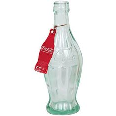 1915 Glass Coca-Cola Root Bottle Replica with Tag