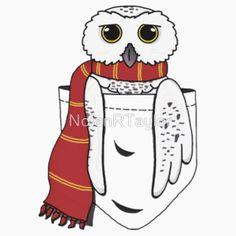 3/4 BASEBALL SLEEVE RED SIZE L Pocket Hedwig