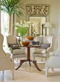 Home staging eBook by house staging expert Barbara Pilcher helps you sell your home fast with budget staging tips. Deco Furniture, Refurbished Furniture, Furniture Layout, Furniture Arrangement, Furniture Sale, Furniture Plans, Luxury Furniture, Living Room Furniture, Furniture Design